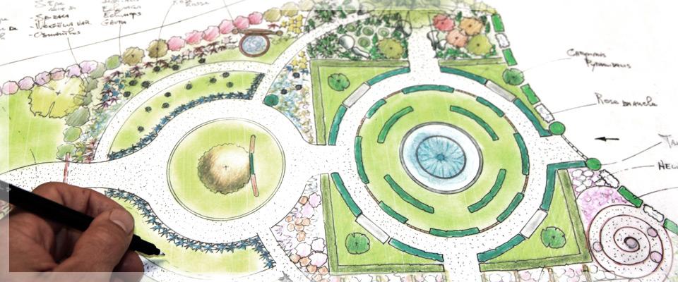 Ideazione progettazione e realizzazione giardini for Manuale progettazione giardini